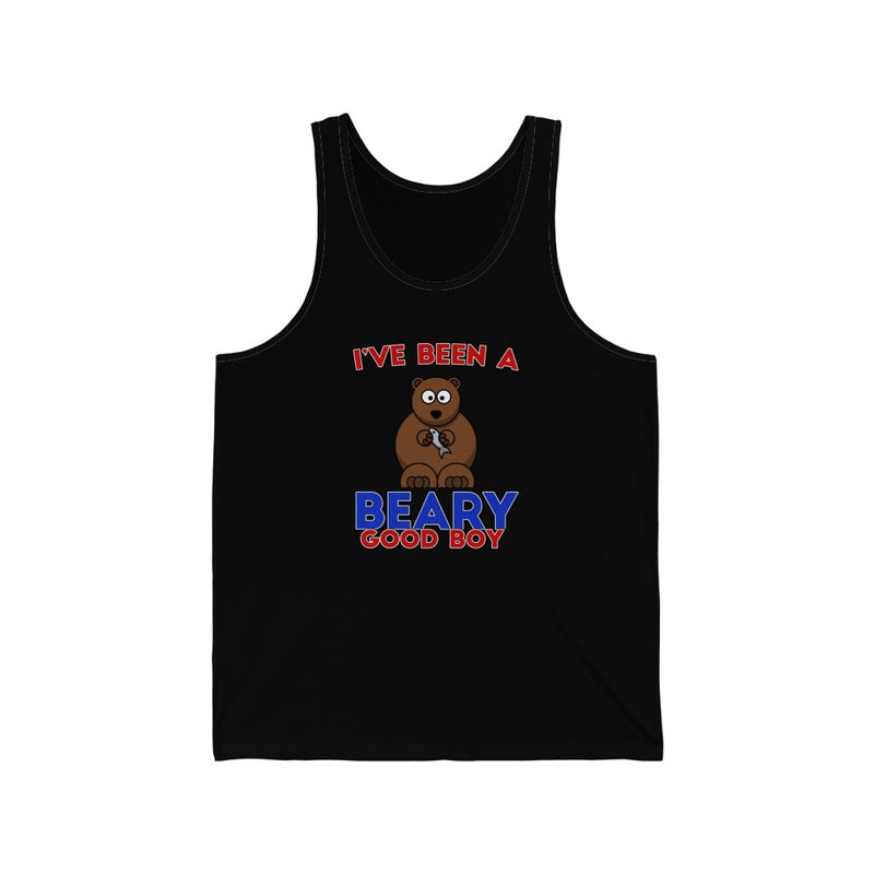 Beary Good Boy Unisex Jersey Tank