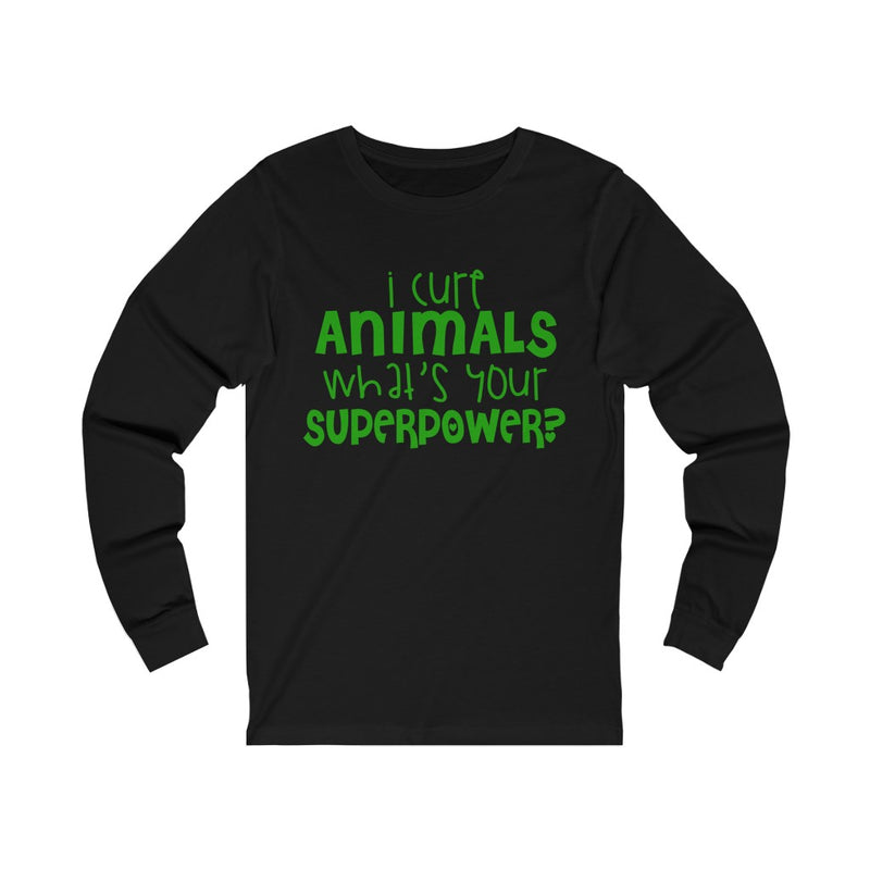 I Cure Animals Unisex Jersey Long Sleeve T-shirt