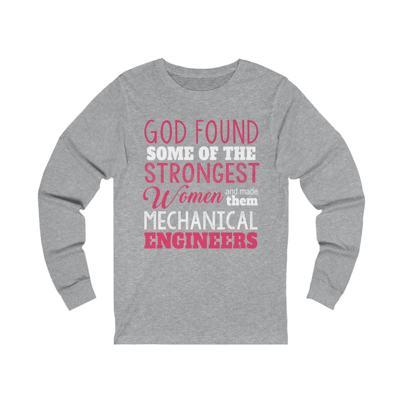God Found Some Unisex Jersey Long Sleeve T-shirt