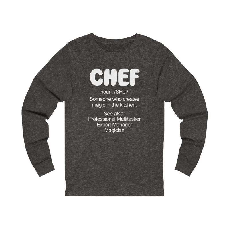 Chef Someone Unisex Jersey Long Sleeve T-shirt