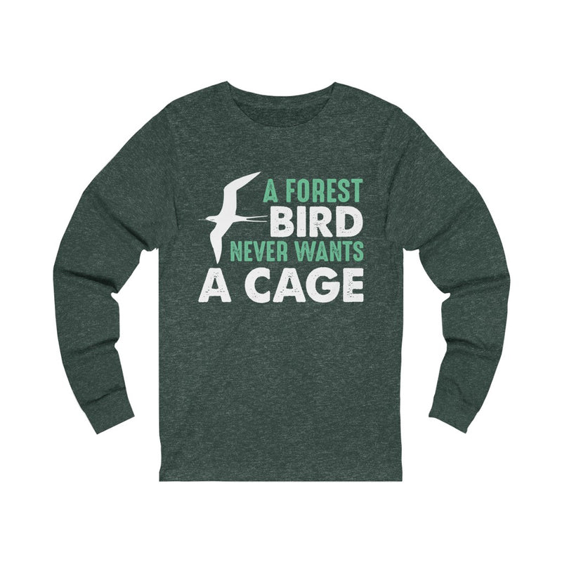 A Forest Bird Unisex Jersey Long Sleeve T-shirt