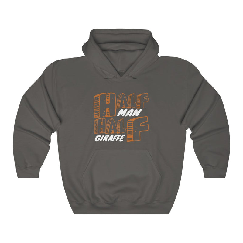 Half Man Unisex Heavy Blend™ Hooded Sweatshirt
