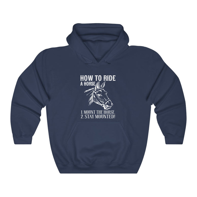 How To Ride Unisex Heavy Blend™ Hoodie