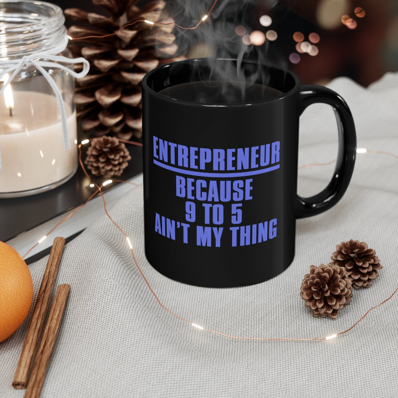 Entrepreneur 11oz Black Mug