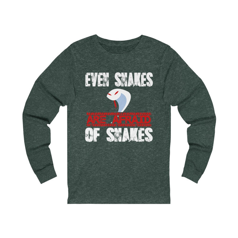 Even Snakes Unisex Jersey Long Sleeve T-shirt