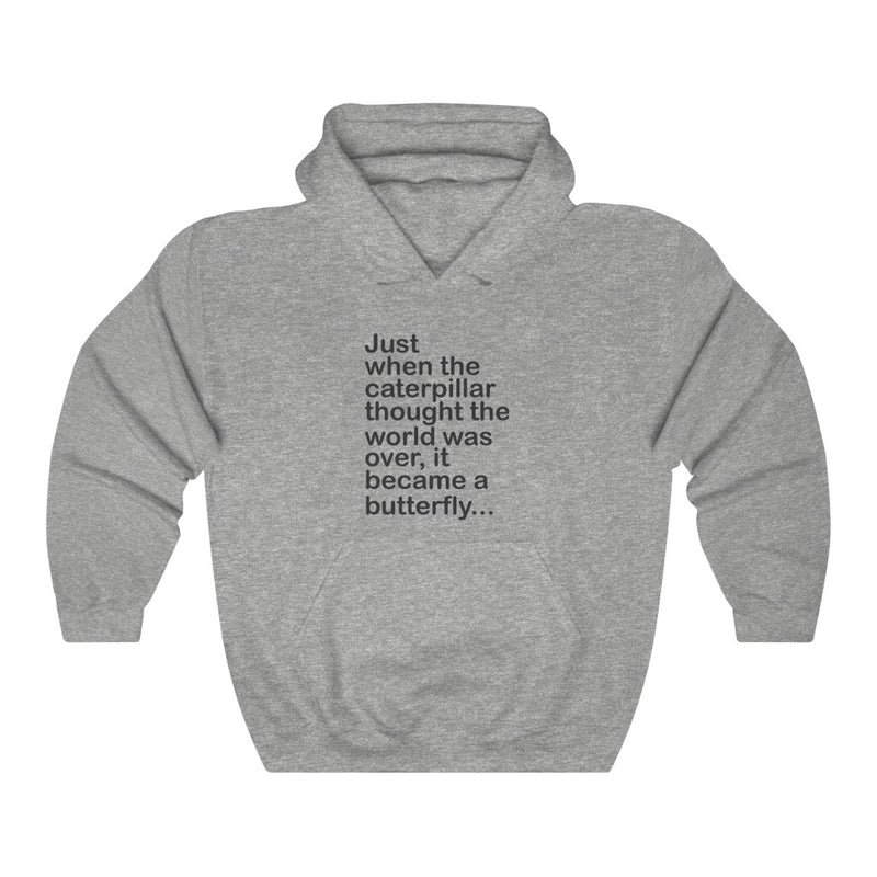 Just When The Unisex Heavy Blend™ Hooded Sweatshirt