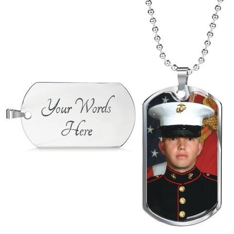 Personalize This Luxury Dog Tag Necklace by Zena Minx