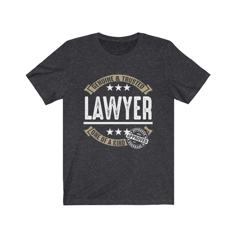Genuine and Trusted Lawyer Unisex Jersey Short Sleeve T-shirt