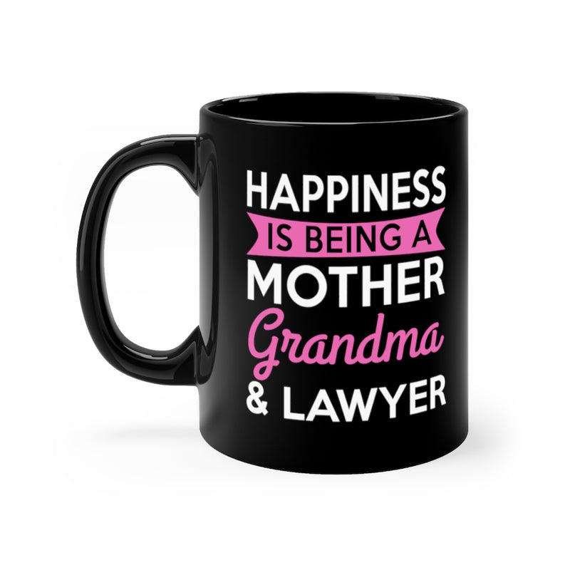 Happiness Is Being A Mother 11oz Black Mug