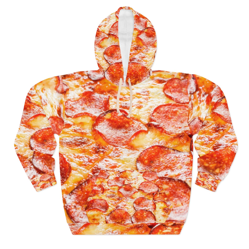 Pizza All Over Print Unisex Pullover Hoodie