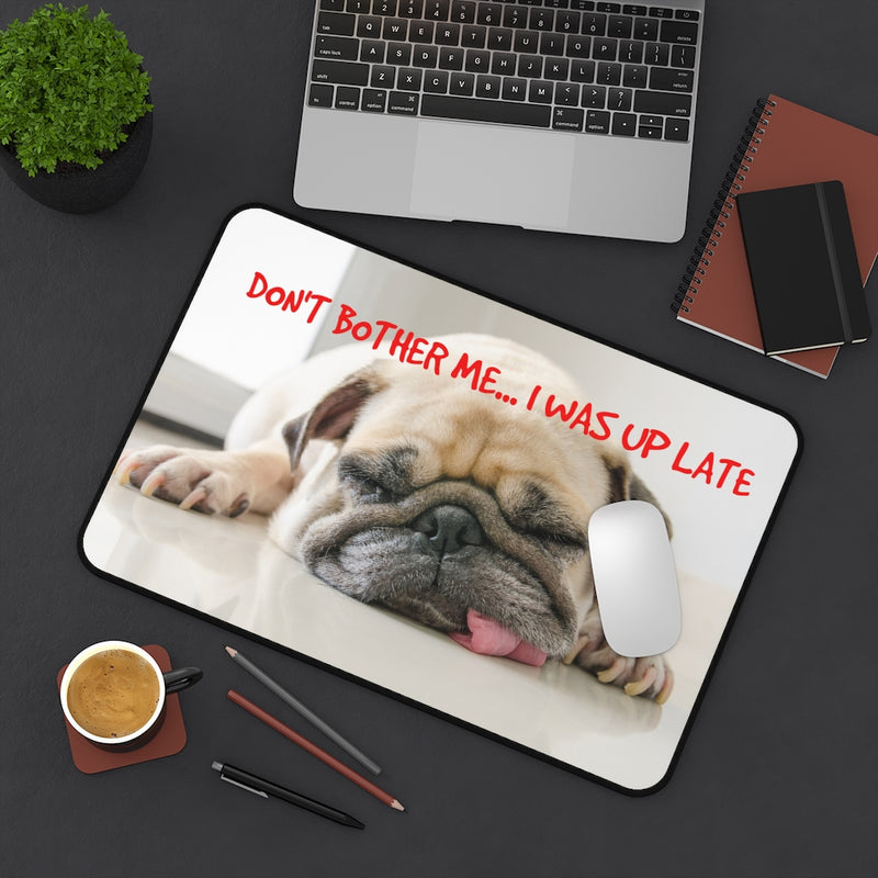 Designer Desk Mat; Puppy