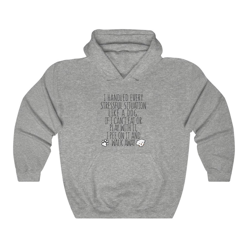 I Handled Every Unisex Heavy Blend™ Hooded Sweatshirt