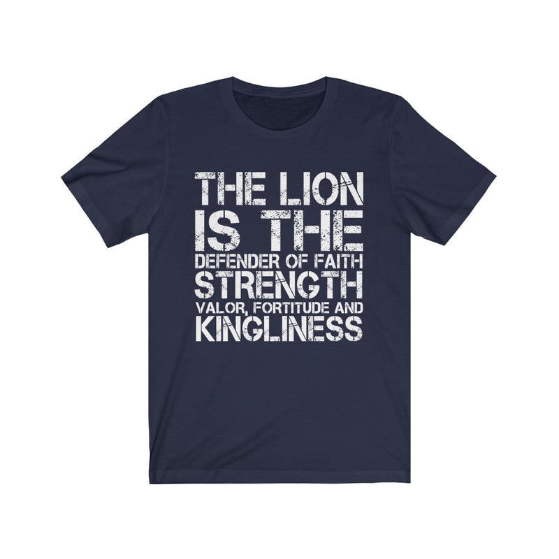 The Lion Is Unisex Jersey Short Sleeve T-shirt