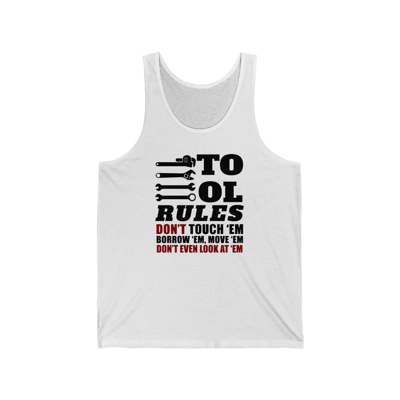 Tool Rules Unisex Jersey Tank