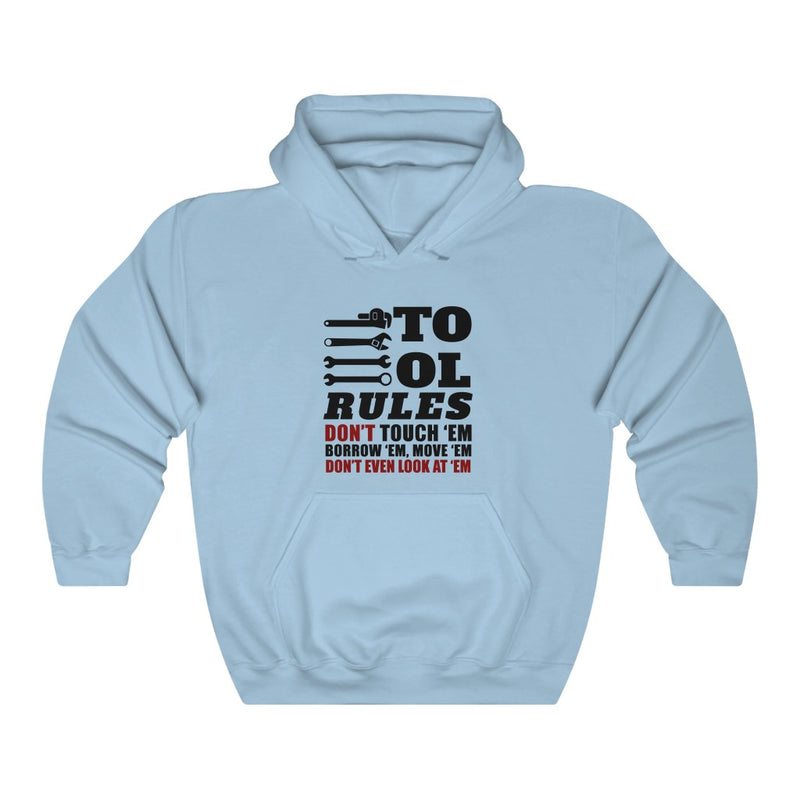 Tool Rules Unisex Heavy Blend™ Hooded Sweatshirt