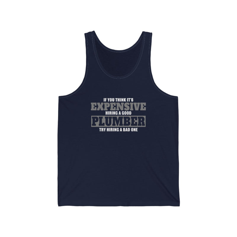 If You Think Unisex Jersey Tank
