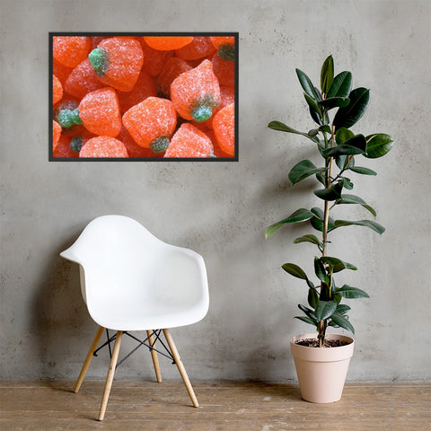 Candied Fruit Framed Matte Paper Poster