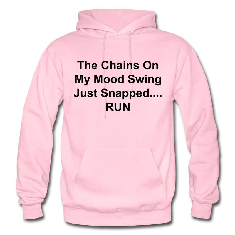 The Chains On My Mood Swing Heavy Blend Adult Hoodie - light pink