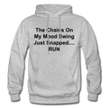 The Chains On My Mood Swing Heavy Blend Adult Hoodie - heather gray