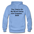 The Chains On My Mood Swing Heavy Blend Adult Hoodie - carolina blue