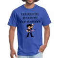 Remember Concerts And Crowds T-Shirt - royal blue