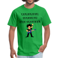Remember Concerts And Crowds T-Shirt - bright green