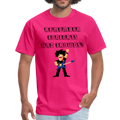 Remember Concerts And Crowds T-Shirt - fuchsia