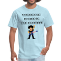Remember Concerts And Crowds T-Shirt - powder blue