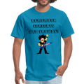 Remember Concerts And Crowds T-Shirt - turquoise