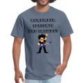 Remember Concerts And Crowds T-Shirt - denim