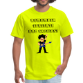 Remember Concerts And Crowds T-Shirt - safety green