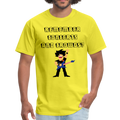 Remember Concerts And Crowds T-Shirt - yellow