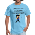 Remember Concerts And Crowds T-Shirt - aquatic blue