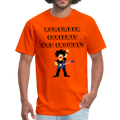 Remember Concerts And Crowds T-Shirt - orange
