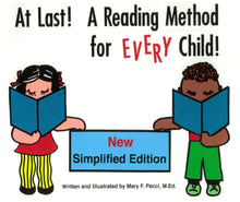 Load image into Gallery viewer, At Last! A Reading Method for EVERY Child! New Simplified Edition