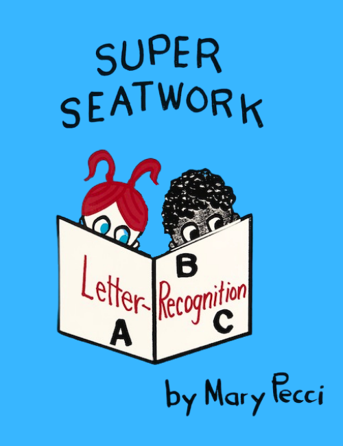 SUPER SEATWORK<br> Letter Recognition