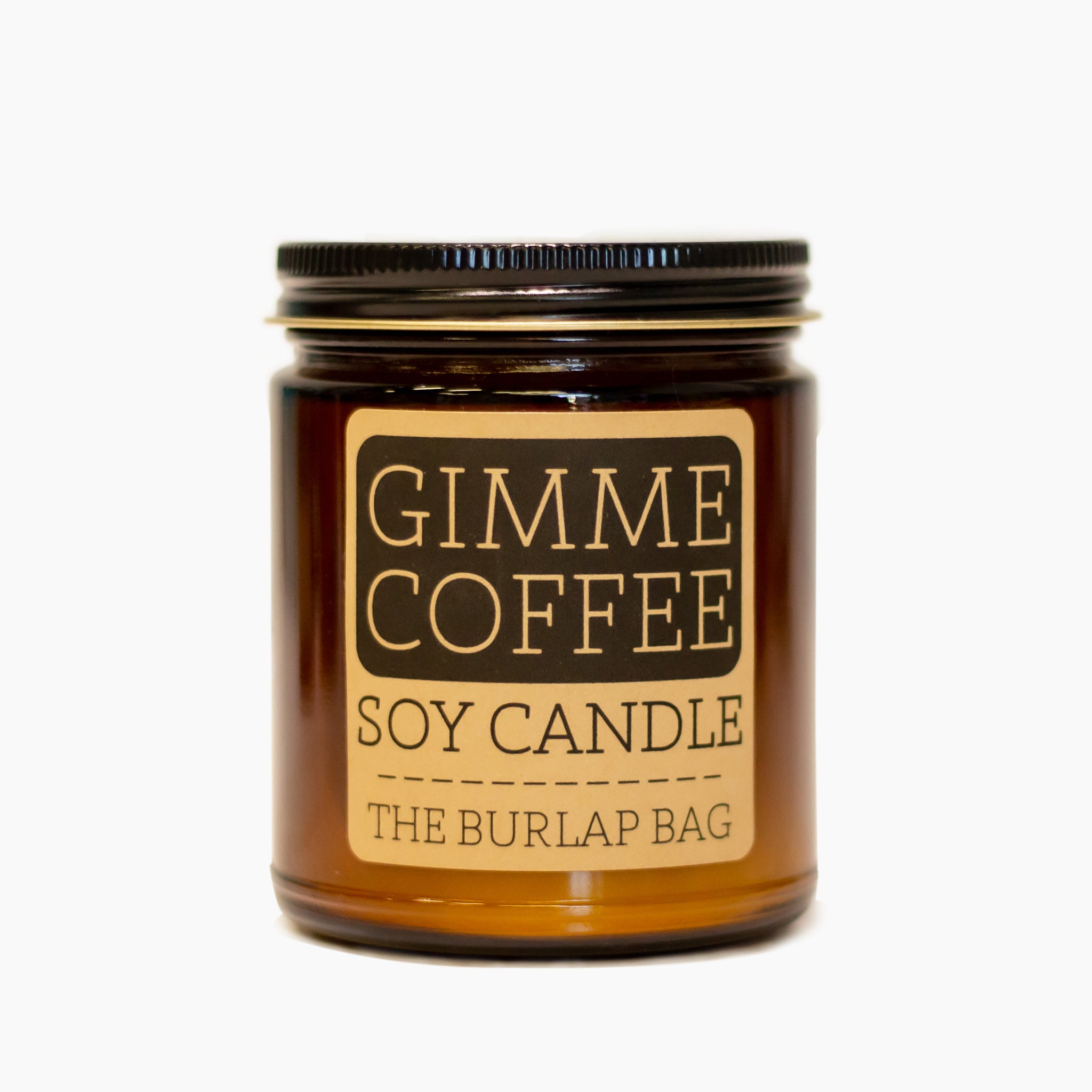 The Burlap Bag Soy Candle