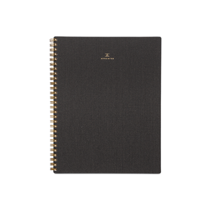 Appointed Lined Notebook - Charcoal Gray