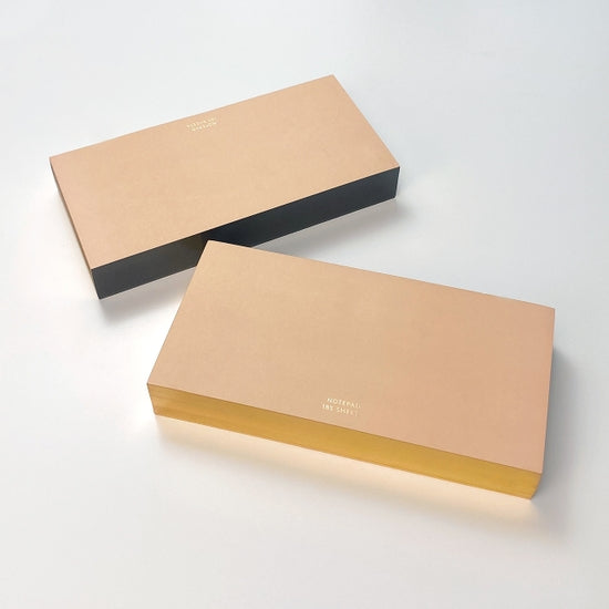 ColorPads: Blush with Gilded edge - Medium Long
