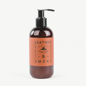 Leather & Smoke Hand Soap