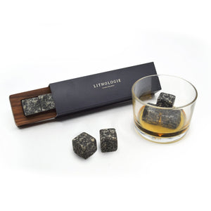 Gabbro Whisky Stone - Set of 4