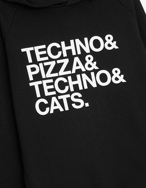 Techno & Pizza & Cats (Unisex)