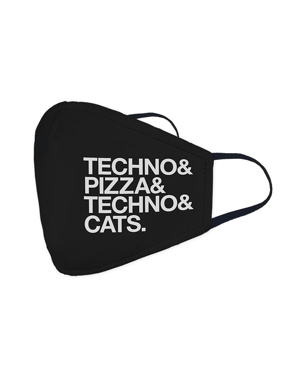 Techno & Pizza & Cats (Mascarilla)
