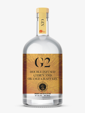 Pre-sales G2: Organic Double Infused Citrus and Orange Craft Gin