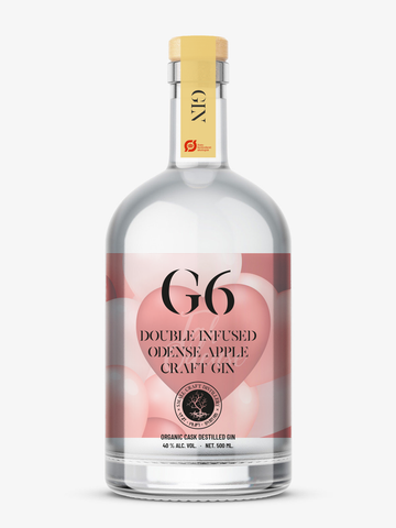 Pre-sales G6: Organic Double Infused Odense Apple Craft Gin