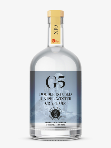 Pre-sales G5: Organic Double Infused Junipers Winter Craft Gin (Small Gin)