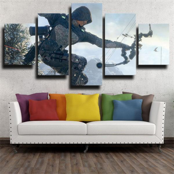 Call Of Duty Black Ops III Outrider Wall Canvas