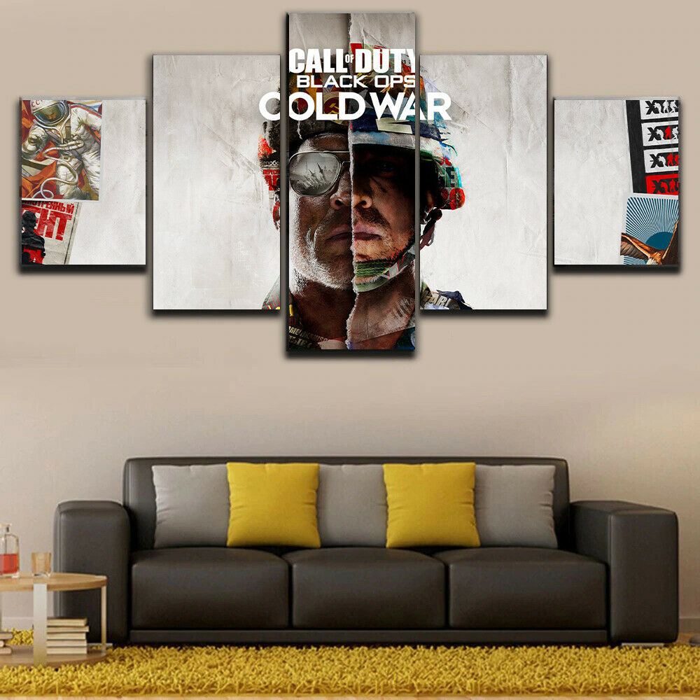 Call of Duty Black Ops Cold War Wall Canvas