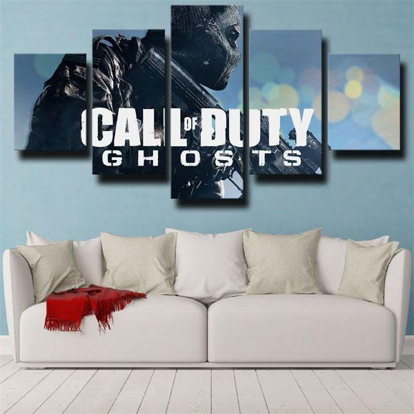 Call of Duty Ghosts Wall Art Canvas 1