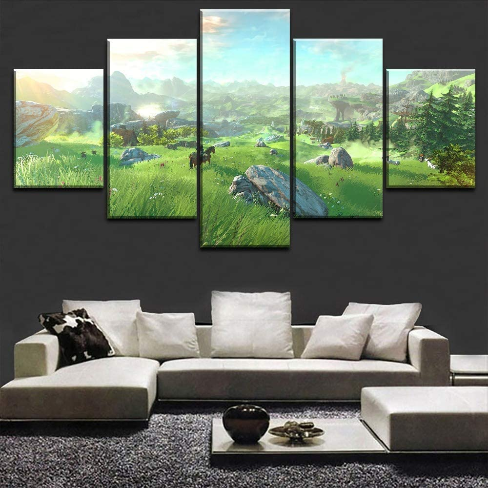 The Legend of Zelda Breath of the Wild Wall Canvas 6